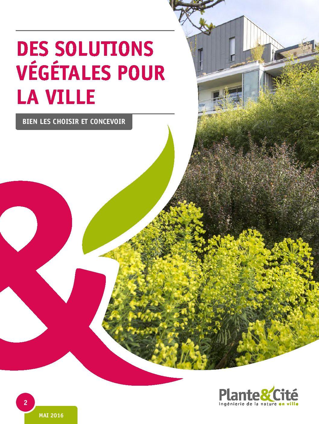 Ouvrage : «Des solutions végétales pour la ville»