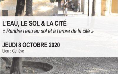 JOURNÉE TECHNIQUE  L'EAU, LE SOL & LA CITÉ
