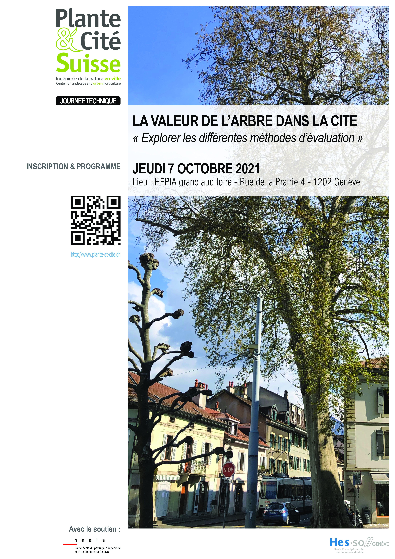 """Journée technique: """"La valeur de l'arbre dans la cité"""""""